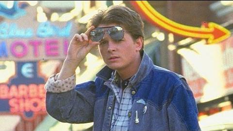"""Back To The Future """"Michael J"""