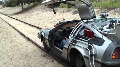 Delorean on Train Tracks...