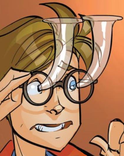 Eye drop glasses