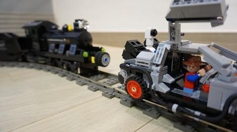 Lego BACK TO THE FUTURE DELOREAN 21103 & Mindstorms EV3 by 뿡대디
