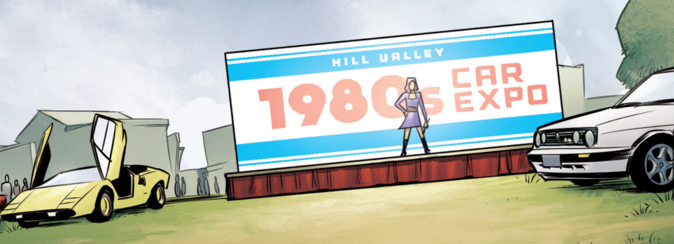 Hill Valley 1980s Car Expo