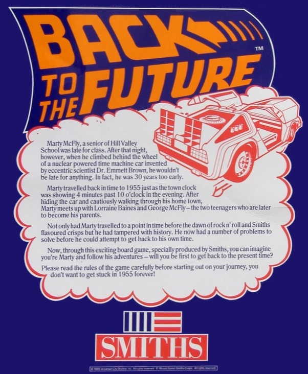 Back to the Future (1985 board game)