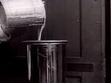 Experimental sawdust pancake batter