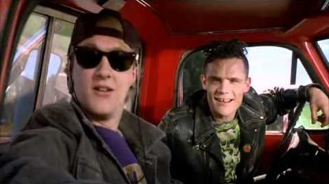 "Michael Balzary ""Flea"" In Back To The Future 3"