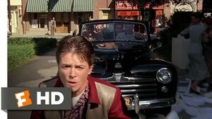 Back to the Future (7-10) Movie CLIP - Skateboard Chase (1985) HD