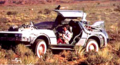 Marty with binoculars