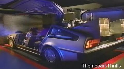 Back To The Future The Ride Universal Studios Florida