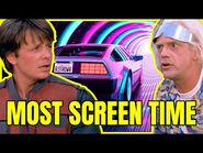 BACK TO THE FUTURE Characters with more screen time