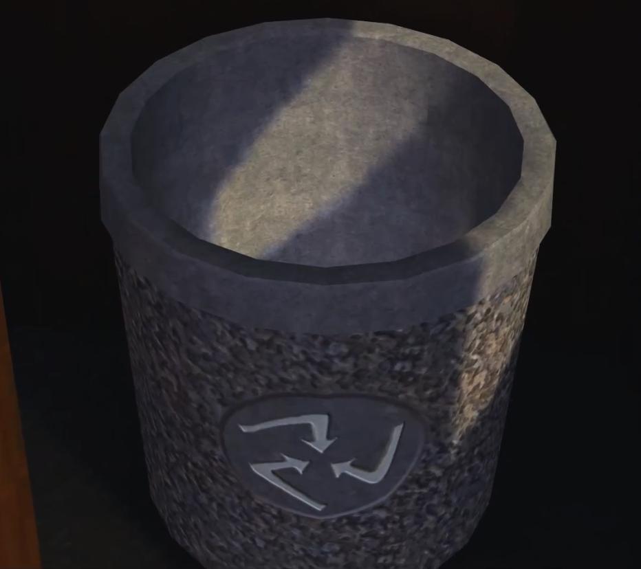 Decycling bin