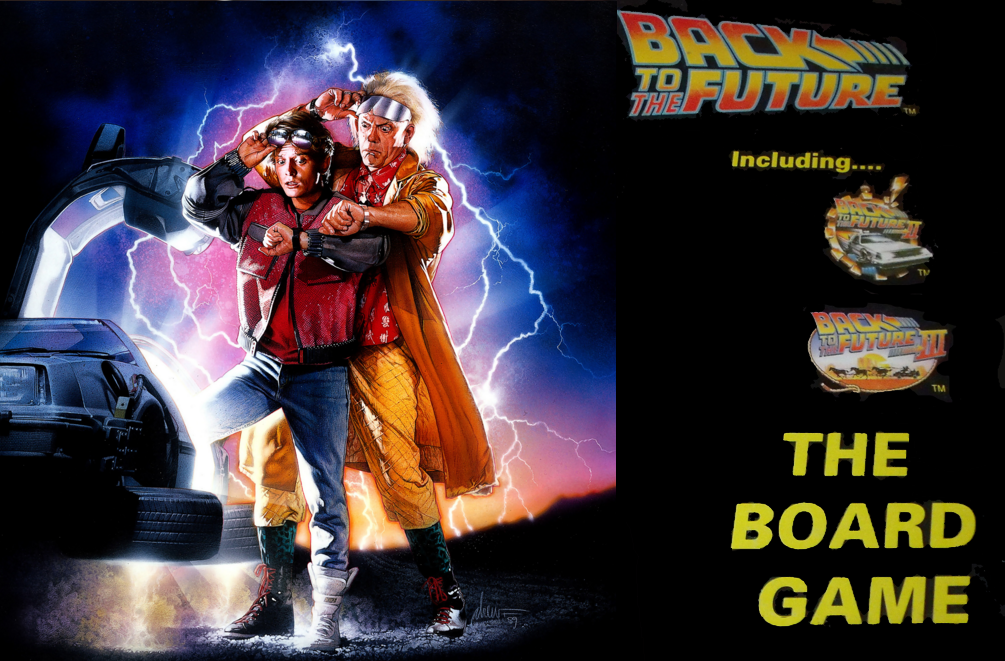 Back to the Future: The Board Game