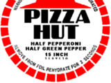 Dehydrated pizza