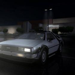 Temporal duplicate DeLorean