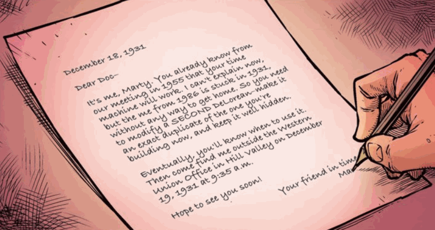 Marty's letter (1931)