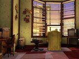 Edna Strickland's apartment