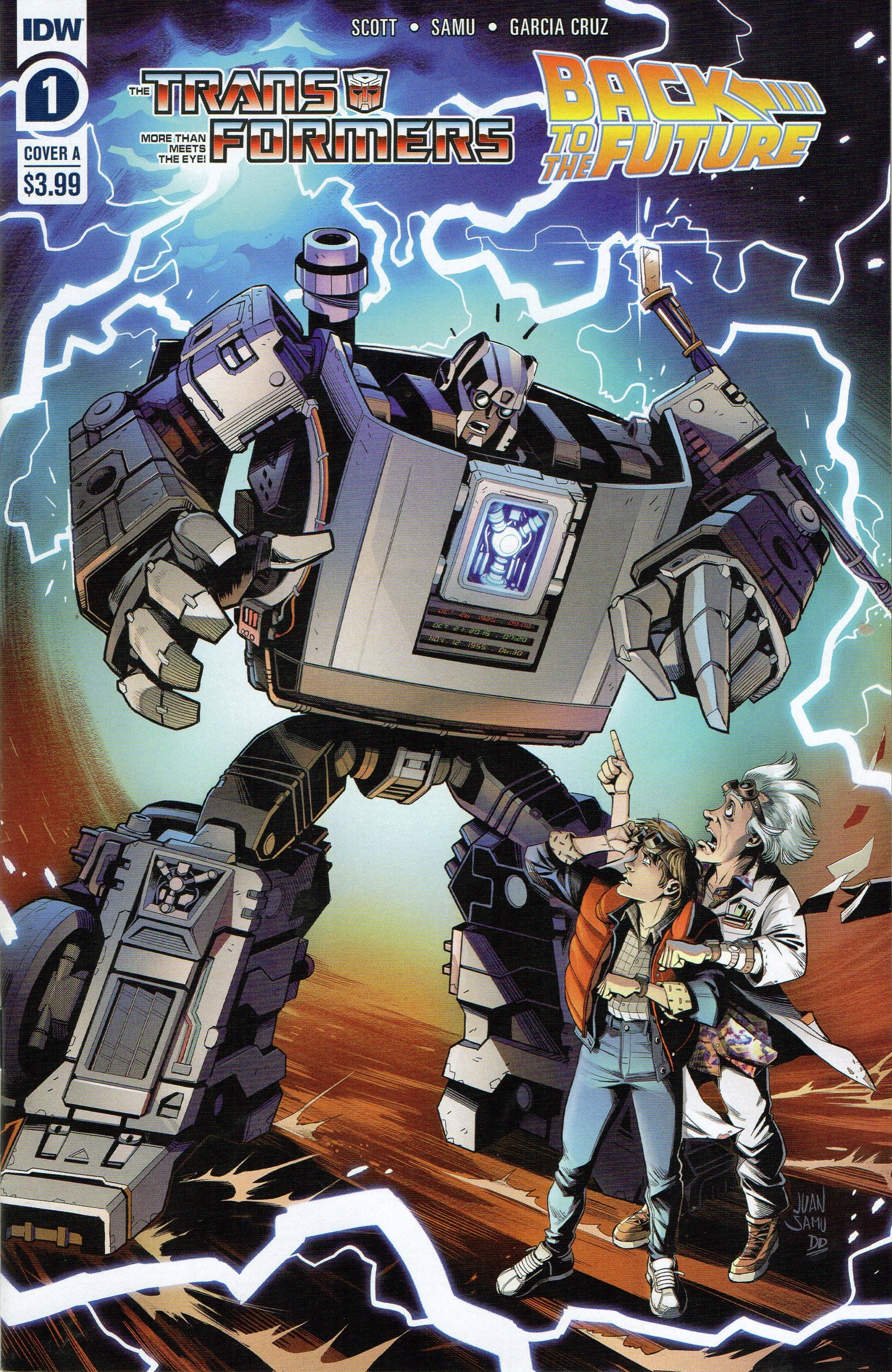 The Transformers/Back to the Future 1