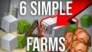 6 Simple Automatic Farms to Build in Survival Minecraft 1.14