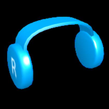 Blue Headphones