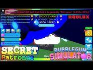 -😱WOW😱- I Hatched SECRET Patronus !! - Bubble Gum Simulator - Hatch On Cam
