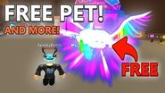 HOW TO GET FREE PET, BOOSTS, AND TITLE ON BUBBLE GUM SIMULATOR!