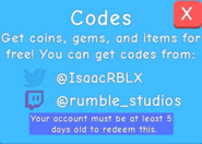 TwitterRelease if your account is under 5 days old