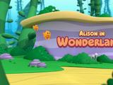 Alison in Wonderland!