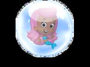 Molly in a bubble again