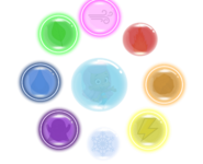 Molly and the 8 Elemental Bubbles