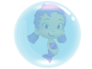 Oona in a Bubble