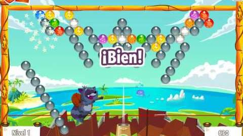 Bubble Island Etapa 10 Nivel 1