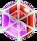 BWS3 Duo Purple-Red bubble under spider web