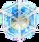BWS3 Ice Fairy Tale Blue bubble under spider web