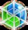 BWS3 Duo Green-Blue bubble under spider web