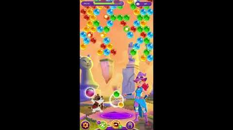 Bubble Witch 3 Saga Level 871 No Boosters