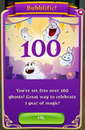 BWS3 1 Year 100 Ghosts