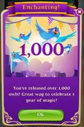 BWS3 1 Year 1000 Owls