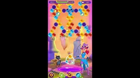 Bubble Witch 3 Saga Level 878 No Boosters