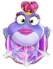 BWS3 FogFrog on Purple bubble under spider web