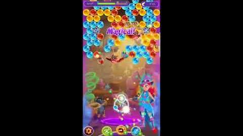 OLD SPECIAL EVENT, Feb 2018 Bubble Witch 3 Saga ~ Stella's Lab • Spell Stream • Level 3