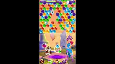 Bubble Witch 3 Saga Level 870 No Boosters