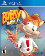 Bubsy - The Woolies Strike Back PS4 cover