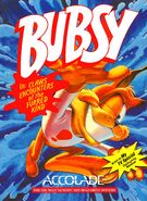 Bubsy 1 Genesis-MegaDrive cover