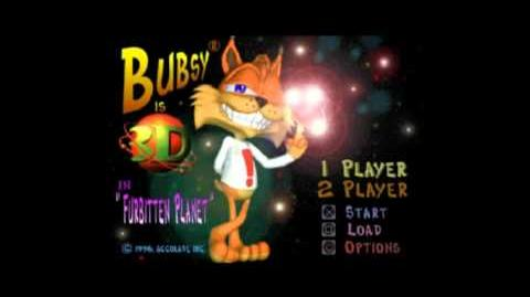 Bubsy 3D near complete voice collection