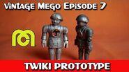 Vintage Mego 7 Prototype Twiki