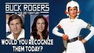 Buck Rogers cast Then and Now