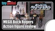 Vintage Toy Review - Mego Buck Rogers 3 34 inch figures