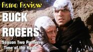Retro Review Buck Rogers - Time of the Hawk