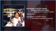 Filmscore Fantastic Presents Buck Rogers in the 25th Century Unchained Woman the Suite