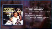 Filmscore Fantastic Presents Buck Rogers in the 25th Century Ardala's Return the Suite