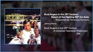 Filmscore Fantastic Presents Buck Rogers in the 25th Century Return of the Fighting 69th the Suite