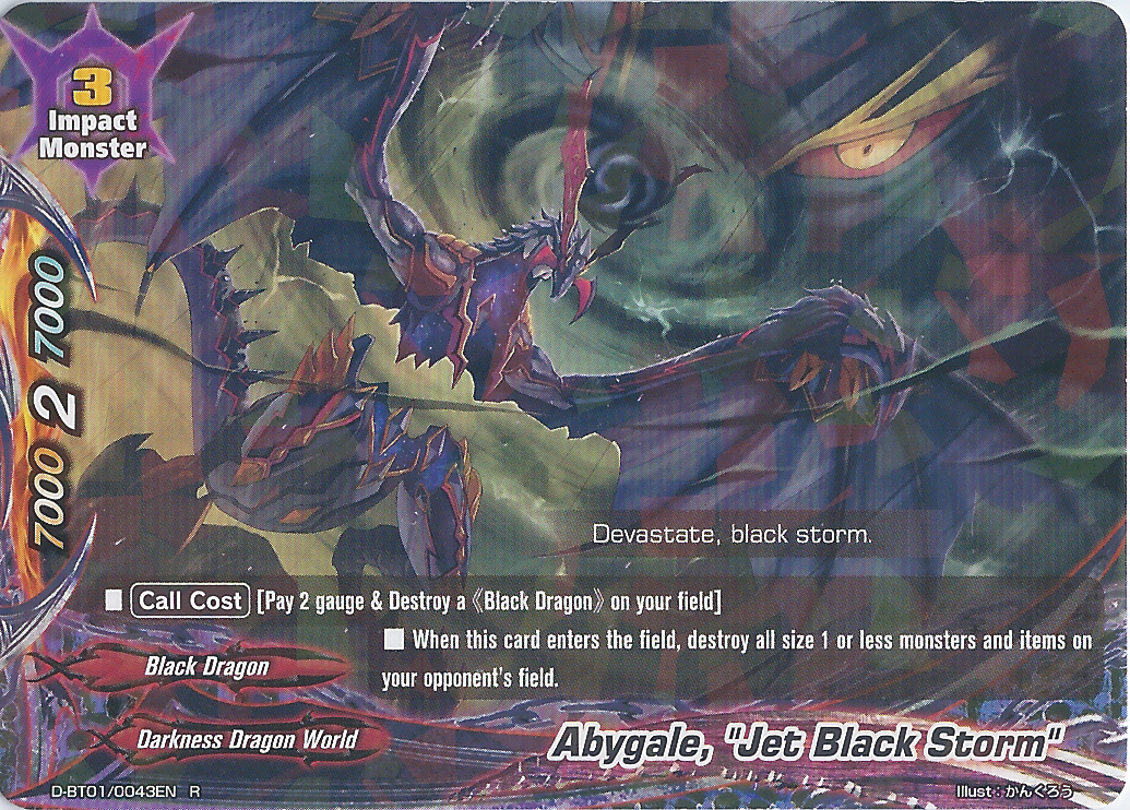 "Abygale, ""Jet Black Storm"""